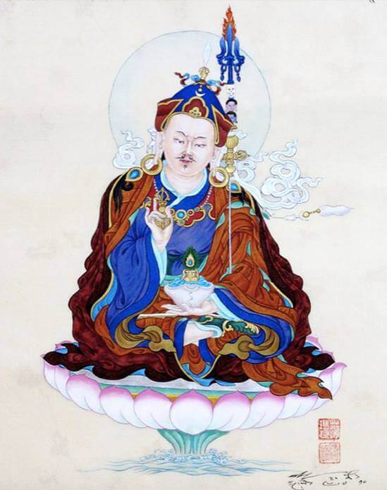 Medytacja Guru Rinpocze